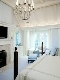 Chandelier Master Bedroom