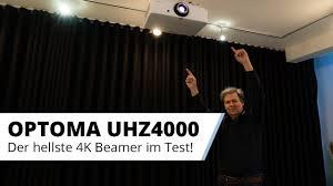 optoma uhz4000 der hellste 4k hdr beamer fürs wohnzimmer im ausführlichen test