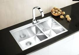 Install Kohler Sink Strainer by More Precision Flush Mount Double Bowl Stainless Steel Sink Apron