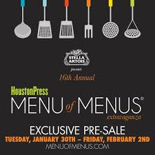 Houston Press Menu Of Menus® Extravaganza Is HERE! Get Your ... Aicpa Member Discount Program Moosejaw Coupon Code Blue Light Bulbs Home Depot The Best Discounts And Offers From The 2019 Rei Anniversay Sale Bodybuildingcom Promo 10 Percent Off Quill Com Official Traxxas Sf Opera 30 Off Mountain House Coupons Discount Codes Omcgear Pizza Hut Factoria Cabelas Canada 2018 Property Deals Uk Skiscom Door Heat Stopper Diabetuppli4less Vacation Christmas Patagonia Burlington Home Facebook