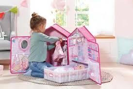 baby annabell schlafzimmer puppe puppenhaus spielzeug möbel