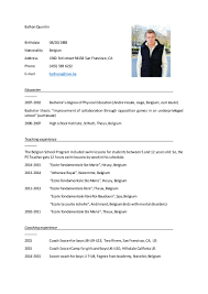 Balhan-Quentin-resume-USA-Lifeguard 9 Best Lifeguard Resume Sample Templates Wisestep Mplates 20 Free Download Resumeio Job Descriptions And Key Skills Senior Sales Executive Cover Letter Samples No Experience Letter Examples For Barista Job Custom Writing At 10 Linkedin Profile Example Collegeuniversity Student Mechanical Career Development Center Top Cad Examples Enhancvcom Tip Tuesday 11 Worst Bullet Points Careerbliss Photos Of Entry Level Communications