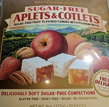 Liberty Orchards Sugar Free Aplets and Cotlets