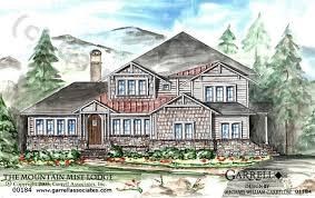 Harmonious Mountain Style House Plans by House Plans Home Plans Luxury House Plans Custom Home Design