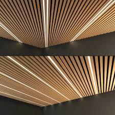 100 Wooden Ceiling Set 8 3D Model