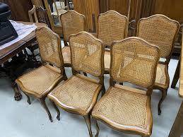 6 stühle barock stil esszimmer jugendstil mit wiener geflecht