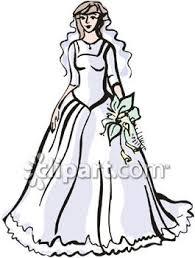 Wedding Dress clipart beautiful dress 5