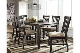 Ashley Furniture Repair Attractive Dining Room Table Intended For Plan 1 Leather