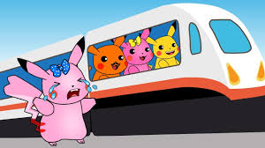 Caillou In The Bathtub Reaction by Pokemon Pikachu Misses The Train Youtube