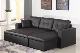 canapé convertible d angle cuir salon avec canape noir