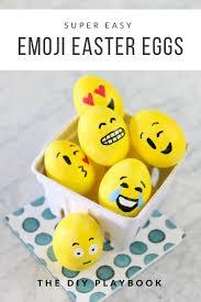 Laughing Emoji Pumpkin Carving by A Super Easy Diy Emoji Easter Egg Tutorial With Tips