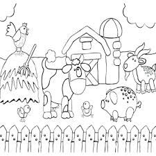Coloring Pages Farm Animals Free Ideas Animal Dogs And Their Babies Full Size