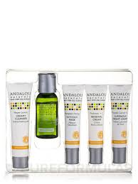 Andalou Naturals Glycolic Mask Pumpkin Honey by Started Brightening Kit 5 Pieces