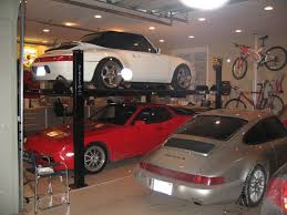 Garage Car Lift Impressive Ideas for Small Garage