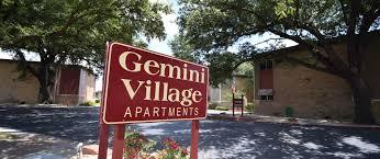 gemini village apartment homes waco tx 76710 254 772 0211