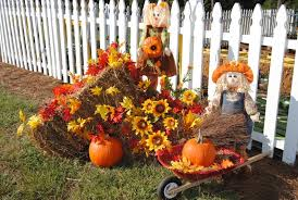 ways to decorate for Halloween Thanksgiving