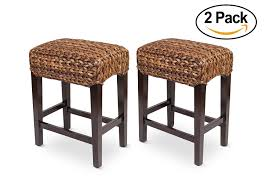 Amazon.com: Bird Rock Home Seagrass Backless Counter Stool   Set ... Ding Pottery Barn Chairs To Entertain Your Family And Bedroom Classy Seagrass Headboard For Comfortable Best 25 Barn Bedrooms Ideas On Pinterest Room Interior Design Bench Download Page Sofas And Amazoncom Birdrock Home Kitchen Articles With Tag Charming Jennifer Rizzos Refresh Featuring Ottoman Full Size Of Large Square Storage Beige Bird Rock Backless Counter Stool Set Fabulous Nice Natural