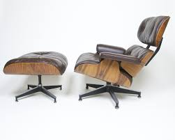 SOLD Brown Eames Lounge Chair With Ottoman With Brazilian ... How To Store An Eames Lounge Chair With Broken Arm Rest The Anatomy Of An Eames Lounge Chair The Society Pages Best Replica Buyers Guide And Reviews Ottoman White Edition Tojo Classic Chocolate Leather Vintage Grey Collector New Dims Santos Palisander Polished Black Lpremium Nero All Conran Shop Shock Mount Drilled Panel Repair Es670 Restoration By Icf For Herman Miller Vitra