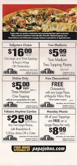 OfferEater.com: Papa Johns Coupon Codes, Three Medium One Topping ... Subway Singapore Guest Appreciation Day Buy 1 Get Free Promotion 2 Coupon Print Whosale Coupons Metro Sushi Deals San Diego Coupons On Phone Online Sale Dominos 1for1 Pizza And Other Promotions Aug 2019 Subway Usa Banners May 25 Off Quip Coupon Codes Top August Deals Redskins Joann Fabrics Text Canada December 2018 Michaels Naimo Deal Hungry Jacks Vouchers Valid Until Frugal Feeds Free 6 Sub With 30oz Drink Purchase Sign Up For