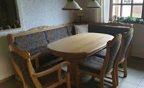 esszimmer eckbank mit tisch und 3 stühlen