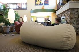 Oversized Bean Bag Bed
