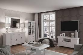 easy möbel wohnzimmer komplett set f sentis 5 teilig farbe kiefer weiß