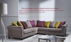 destockage canapé home spirit en déstockage canapé pas cher fabrication française