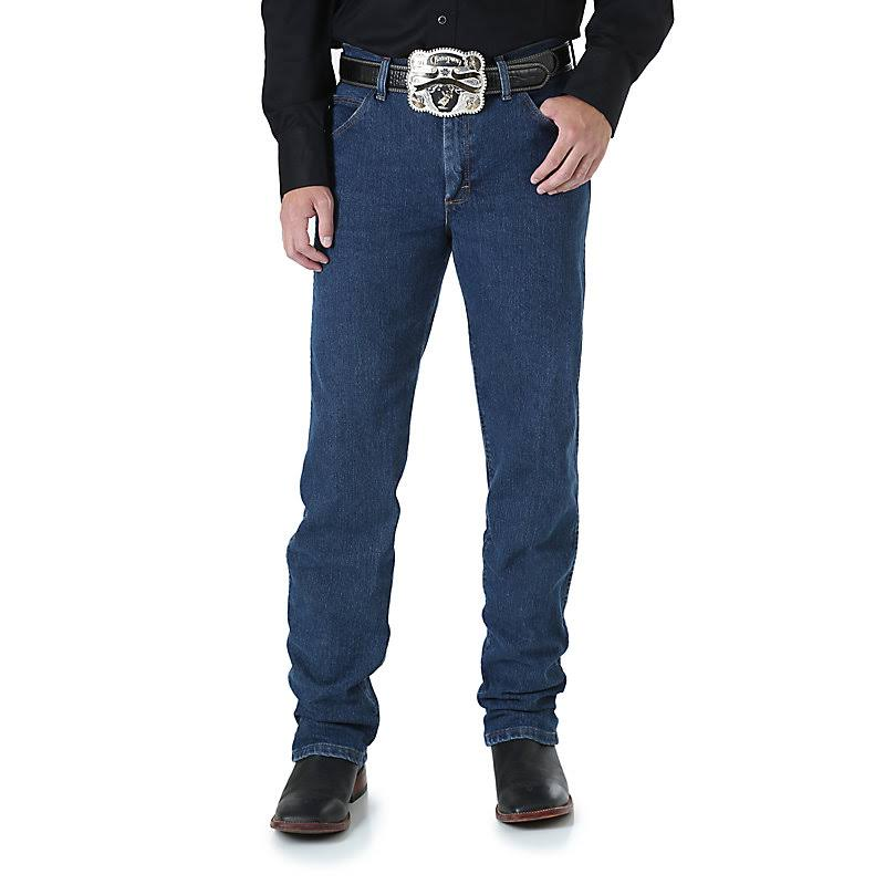 Wrangler Men's Premium Cowboy Cut Regular Fit Jean - Size 38