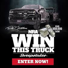 Buckle Up And Enter For A Chance To WIN... - NRA - National Rifle ... Pismo Sands Beach Club Make A Reservation Official Megaraptor Giveaway Tshirt 40 Chances To Win Defco Trucks Win Mustang Car Sweepstakes 2013 Sweeps Maniac Lexington Bbq Festival Ram Sweepstakes M L Ford 2018 Vehicle Sweepakeslistingstodaycom Diessellerz Home Winner And United Way Advocate Selects New Car That Sweeptsakes Bangshiftcom Upgrade The Brakes On A 1971 C10 Chevy Pickup Truck Wisconsin Super Dealers Daily Giveaways Builds Blog
