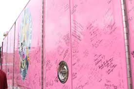 Pink Heals In Town     Winonadailynews.com Me At The American Lafrance Headquarters Pink Heals Pinterest Campaigning Against Cancer With Pink Fire Truck Scania Group Copy Of Fire Trucks Hop Life Brewing Company Old Intertional Photos From The K Line In Town Winonadailynewscom Debbiethe Nc Piedmont One Tours Trucks Flickr