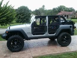 Jeep Mesh Doors
