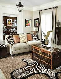 Safari Inspired Living Room Decorating Ideas by Living Main Safari Inspired Blue White Living Room Cottage