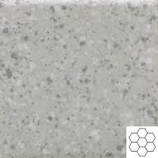 keystones 2 x 2 desert gray speckle hexagon mosaic daltile