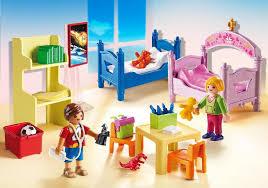 playmobil chambre bébé chambre d enfants avec lits superposés 5306 playmobil