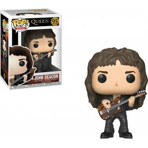 Funko Pop Rocks 95 Queen John Deacon Vinyl Action Figure