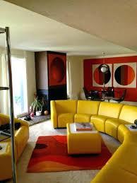 70er jahre room decor dekoration ideen innenarchitektur
