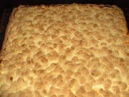 quarkkuchen auf dem blech