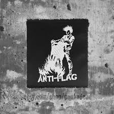Halloween On Spooner Street Full by Anti Flag Burning Flag Government Issue Patch Punk Patch
