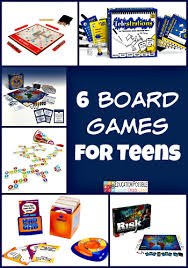 6 Board Games That Will Keep Your Teens Interest