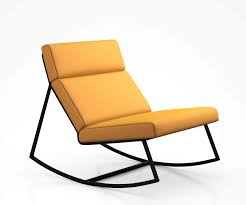 100 Gus Rocking Chair GT Rocker Lounge Chair By Modern 3D CGTrader