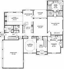 4 Bedroom House Plans Rustic Fresh 20 Open Floor