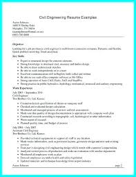 Project Engineer Resume Sample Civil Structural Construction