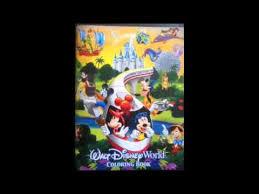 Walt Disney World Coloring Book Over 50 Pages 4 Parks 1
