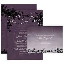 Rustic Wedding Invitations String Of Lights Invitation With Free Response Postcard