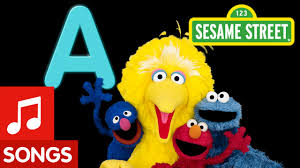 Sesame Street Letter A Letter of the Day