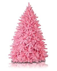 Pretty In Pink Christmas Tree Rollover To Zoom