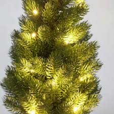 Realistic Artificial Christmas Trees Canada by Battery Pre Lit Green Artificial Potted Real Feel Pe Christmas Tree