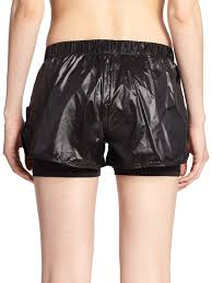 koral activewear scout stretch shorts in black lyst