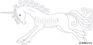 Prancing Fairy Unicorn Coloring Page