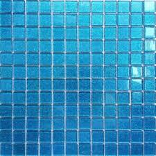 blau glitzereffekt glanz glas mosaik fliesen bad küche